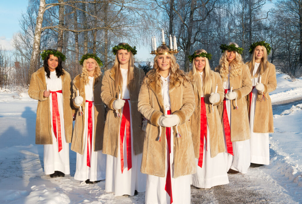 Lucia in Sweden